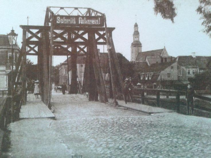 Nowa Sól - Most Zwodzony XIXw.