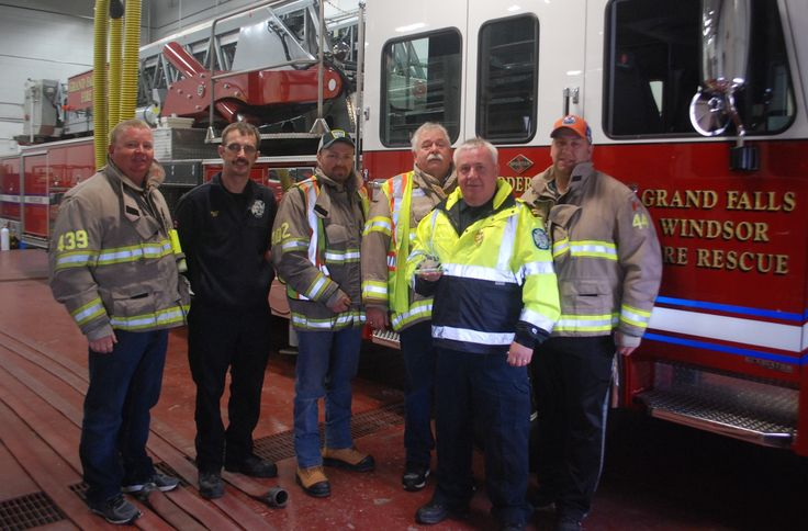 Firefighters recognized with Atlantic Provinces fundraising award - Local - Advertiser