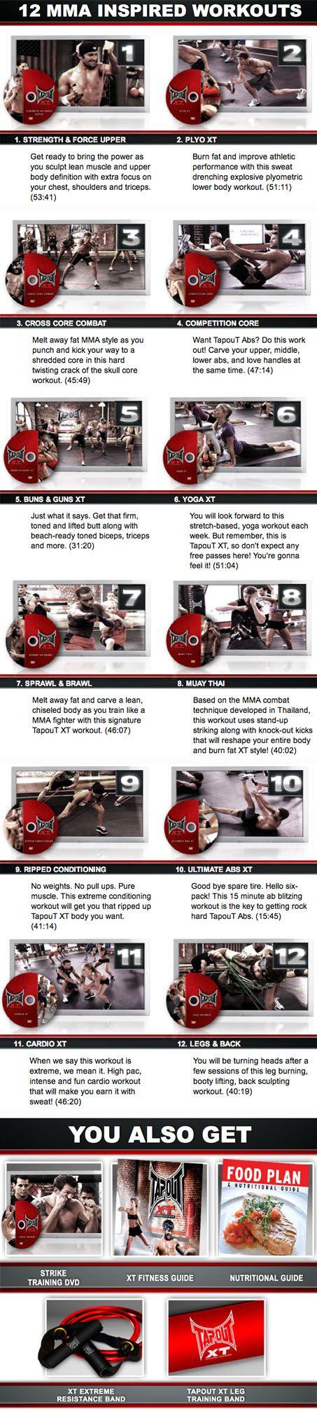 Tapout XT | Extreme MMA Workout Program