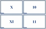 Roman numerals 1-1000 flash cards-- Not sure how useful this would be but, maybe...