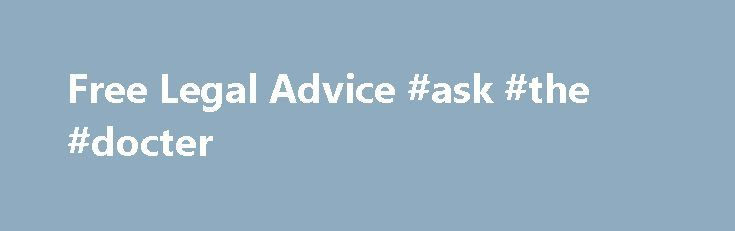 """Free Legal Advice #ask #the #docter http://questions.nef2.com/free-legal-advice-ask-the-docter/  #ask free legal questions # Free Legal Advice There is no such thing as a """"standard lease"""". Never sign a lease if you don't understand a clause or have questions about your responsibilities. REMEMBER – Once you sign, it's almost always too late to ask questions and change any of the provisions. Get a FREE lease review from our attorney. Attorney Bruce Sarbaugh will tell you the good and the bad…"""