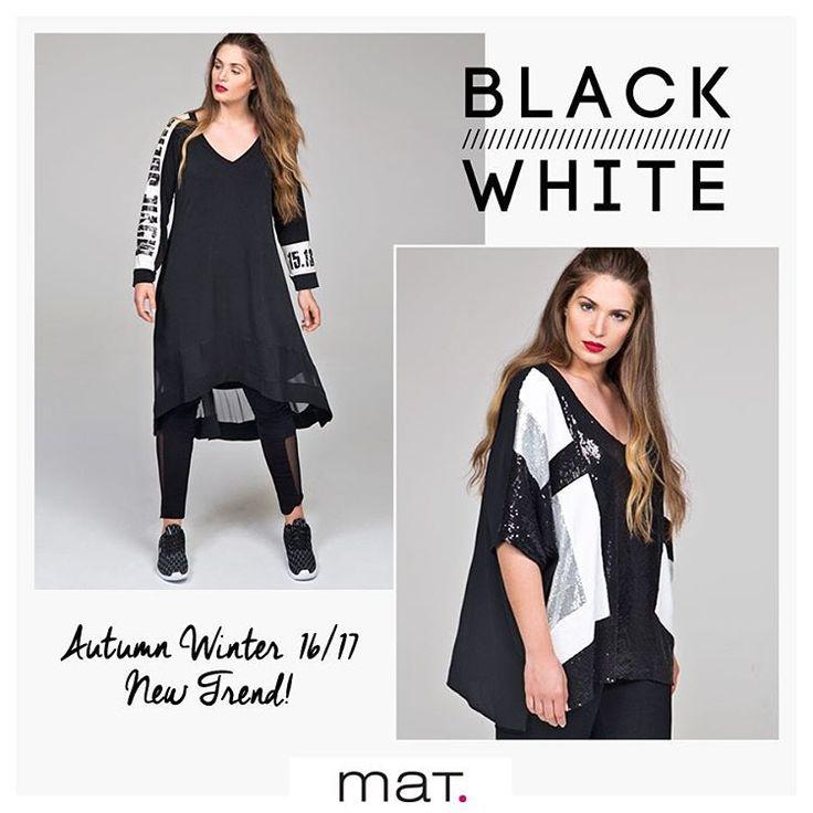 New Season /// New Arrivals • Οι πρώτες αφίξεις της συλλογής Φθινόπωρο Χειμώνας 16/17 είναι γεγονός! Υιοθετήστε και εσείς το hot trend της νέας σεζόν: black & white mix & match και ανανεωθείτε! Βρείτε τη νέα συλλογή στα καταστήματα και online! #matfashion #fallwinter2016 #new #collection #arrivals #blackandwhite #fashion #trend #ootd #inspiration