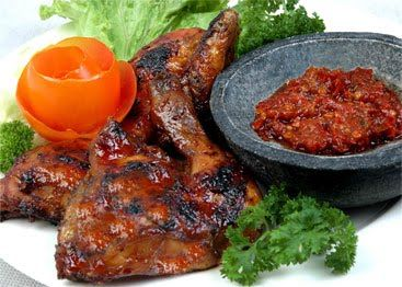 Chicken Grilled - Indonesia  (Ayam Bakar)