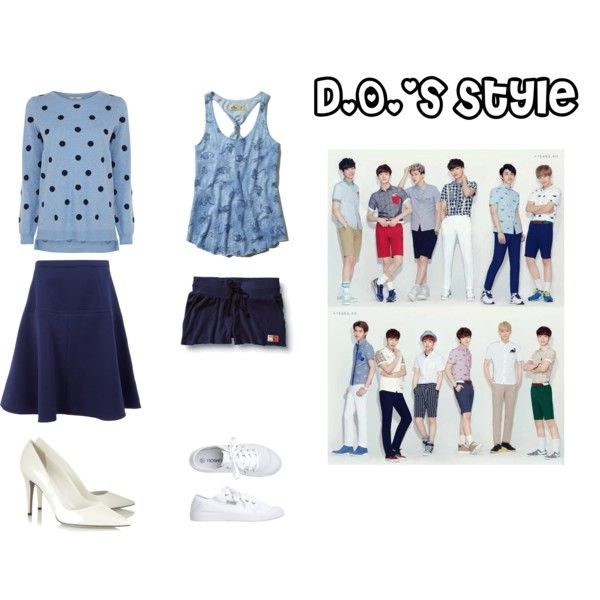 EXO Ivy Club D.O. Inspired Outfit