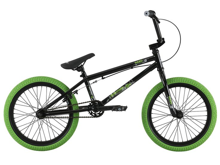 "Haro Bikes ""Downtown 18"" 2017 BMX Bike - 18 Inch | Gloss Black | kunstform BMX Shop & Mailorder - worldwide shipping"