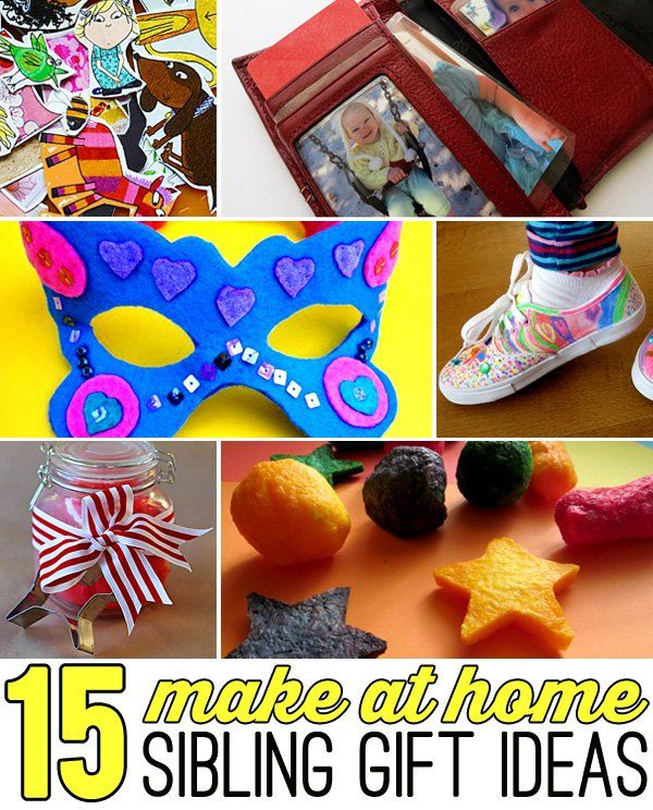 15 simple gift ideas that kids can do - made with supplies you most likely already have at home.