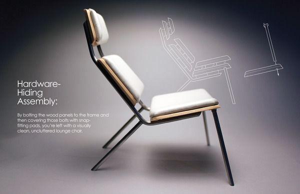 Respite Lounge Chair on Behance