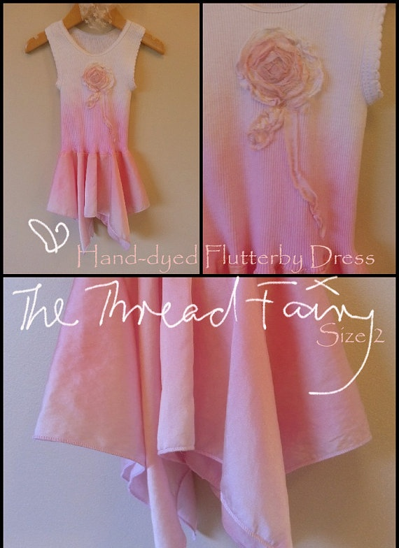 Unqiue Flutterby Dress beautifully crafted by thethreadfairy, $30.00