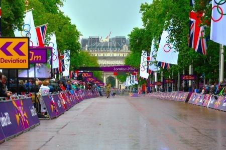 London 2012, Olympics, Lizzie Armitstead, women's road race, London 2012 viewpoints - Weather