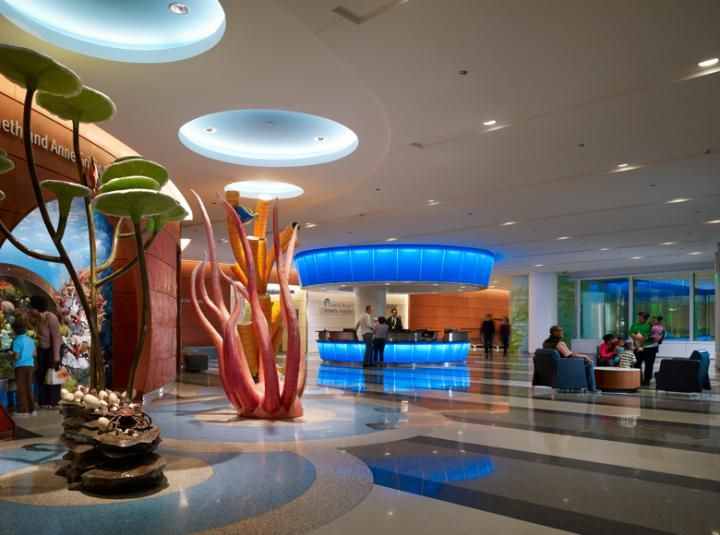 Lobbies For Children Hospitals Lurie Children S Hospital