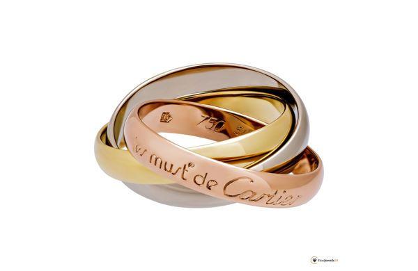 """Cartier  """"Le Must de Cartier"""" Trinity Ring, Damenschmuck"""