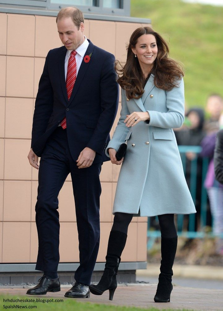 The Duke and Duchess of Cambridge spent the day in Wales carrying out engagements. Following, a...    10      1