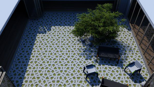 how awesome is this idea? permeable pavers by davor petranovic ... - Permeable Patio Ideas