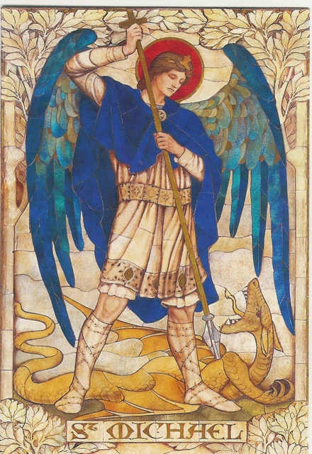 Saint Michael the Archangel, by James Powell