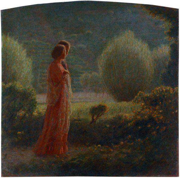 "artist...Giuseppe Pellizza da Volpedo  ""The Love of Life"""