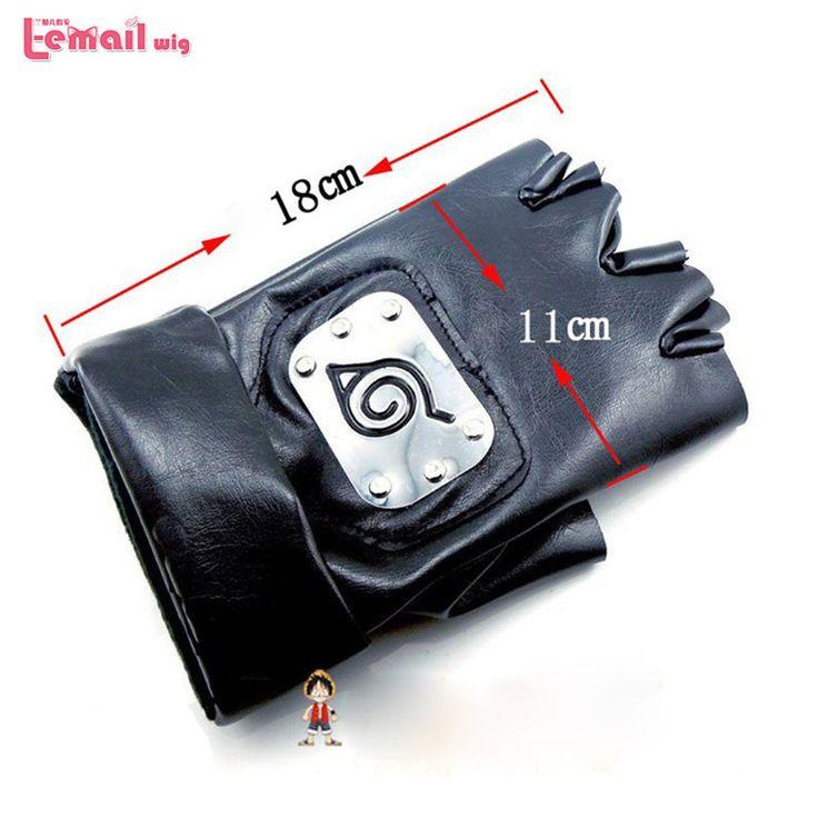Naruto Kakashi Gloves Black //Price: $18.69 & FREE Shipping //