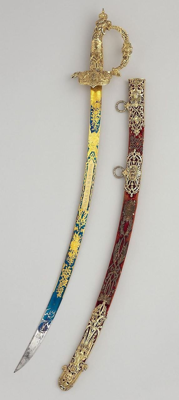 Sword with Scabbard of Faustin I (1782–1867), Emperor of Haiti. Maker: Robert Mole (British, Birmingham, 1800–1856). Dated: 1850.