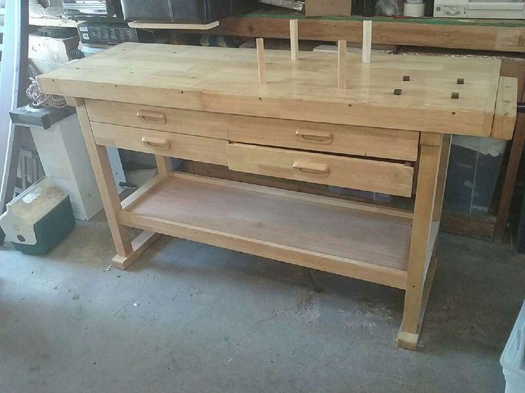 letgo wood work station in Modesto, CA Coffee table