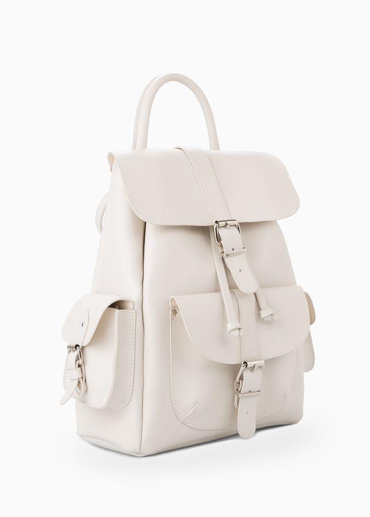 Rucksack aus Kunstleder