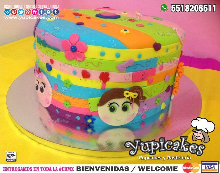 ✨ Tus cumpleaños no serán los mismos con este pastel de Distroller decorado en Fondant!  Dale un toque mega cool a tus paris y déjate sorprender por su delicioso sabor y diseño personalizado  ¡Haz tus pedidos HOY!   Cotiza en línea en  www.facebook.com/yupicakes  o vía WhatsApp al ☎ 5518206511  ENTREGAMOS EN TODA LA CDMX  #Yupicakes #CDMX #Distroller #Pastel  #Ksimeritos #Neonatos  #Sabor #Color #Calidad #Cumpleaños #Cool #Berinaiz #Mango #Tinga