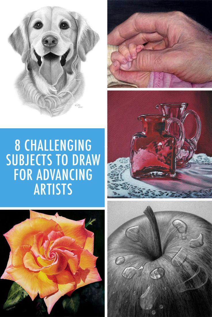 Challenging subjects to draw