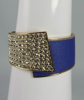 Bling Cuff - Blue This beautiful bracelet is part Last Stop's Daily Deal