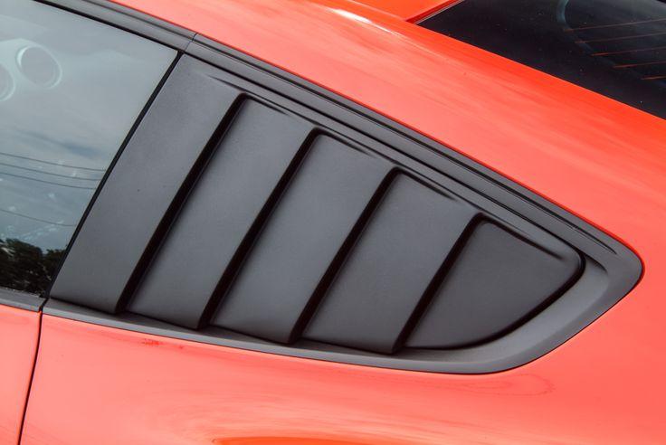 2015-2016 Mustang Quarter Window Louvers