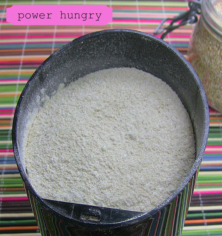 Quinoa Flour 101 Make Your Own Quinoa Flour. This flour is much more nutritious than white and packed with protein. Great for your morning muffins.