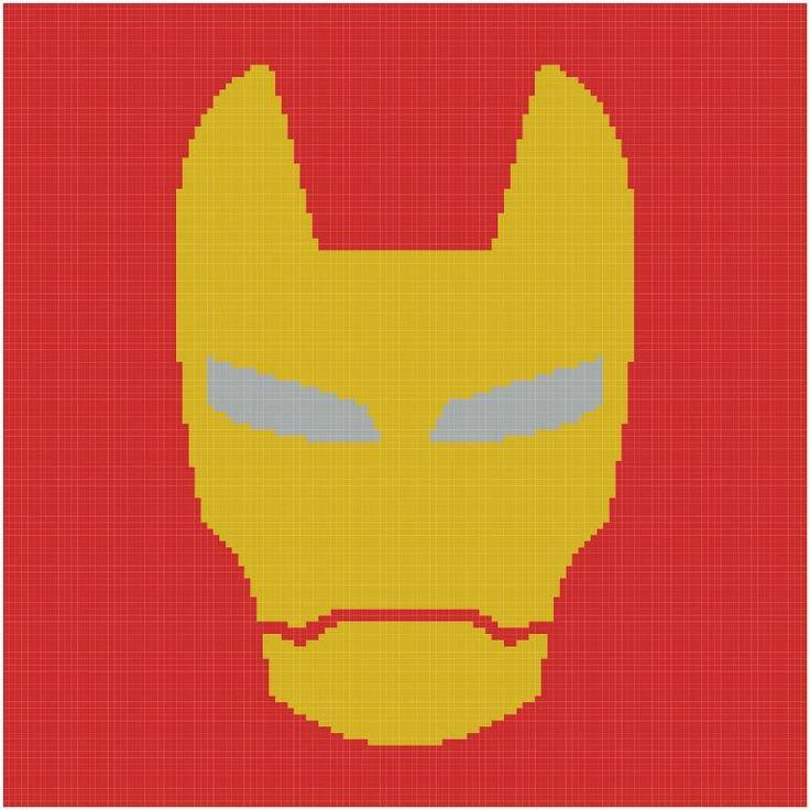 Iron Man Knitting Pattern : 35 best images about Graphgan patterns on Pinterest Butterfly kisses, Dr wh...