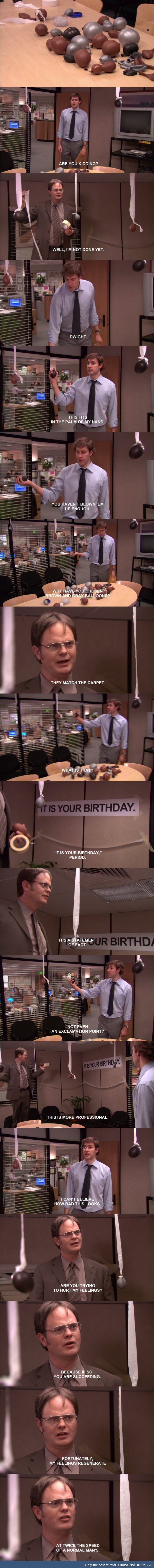 It is your birthday