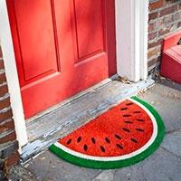 Watermelon Doormate cool! & 12 best Capachos Divertidos images on Pinterest | Door rugs ...