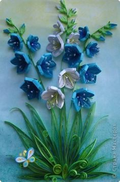 *Quilled flowers