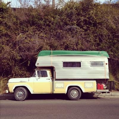 Model Camper Truck Location Laguna Beach CA Photo Foster Huntington
