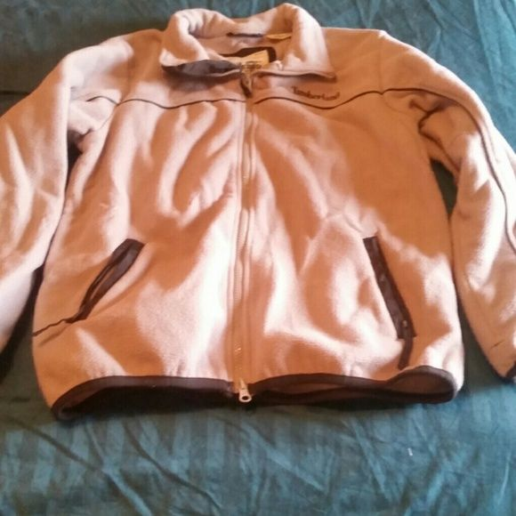 Timberland jacket Used timberland jacket, good condition not stains or tears. Light gray and dark grey Timberland Jackets & Coats