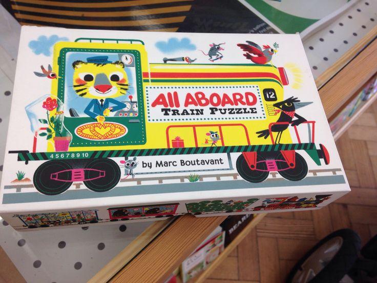 Lovely train jigsaw