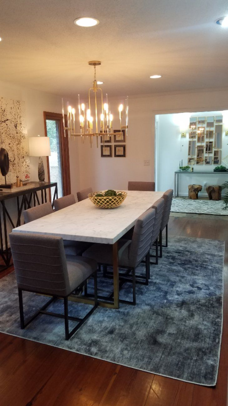 Modern Dining Room For Airbnb Home Interior Design Modern