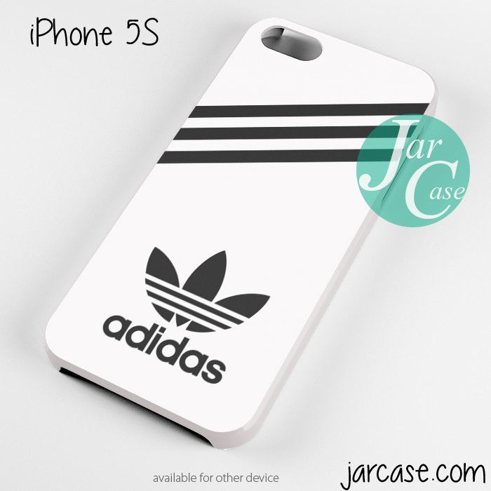 white adidas custom Phone case for iPhone 4/4s/5/5c/5s/6/6 plus