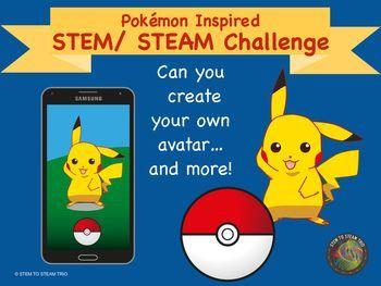 Pokmon Go Inspired STEM / STEAM Activity:  Create Your Ow