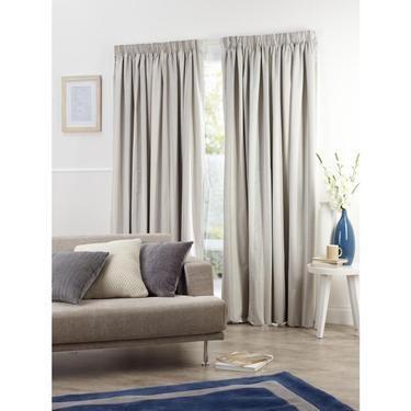Gummerson Cashmere Pencil Pleat Curtains Spotlight Australia House Decoration