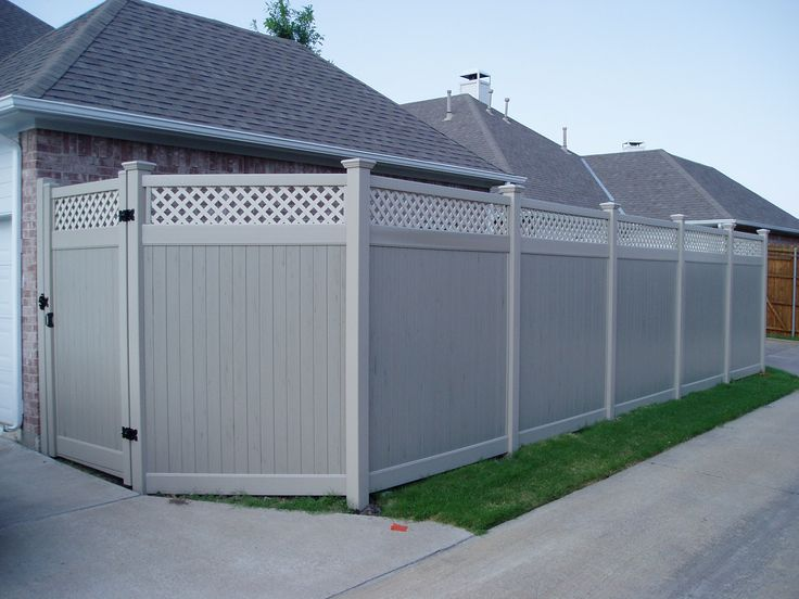 Lifetime Fence Company Dallas: Vinyl Fencing Is A Lifetime Fence. Future Outdoors