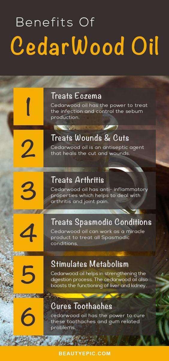 Best Uses & Benefits Of Cedarwood Essential Oil