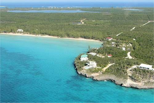 Aerial Ten Bay Beach, Eleuthera -7349