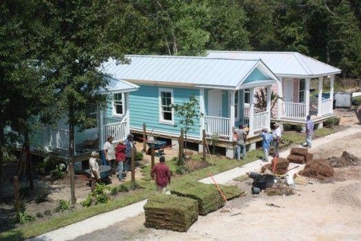 Cottage square ocean springs mississippi katrina for Mema cottages for sale