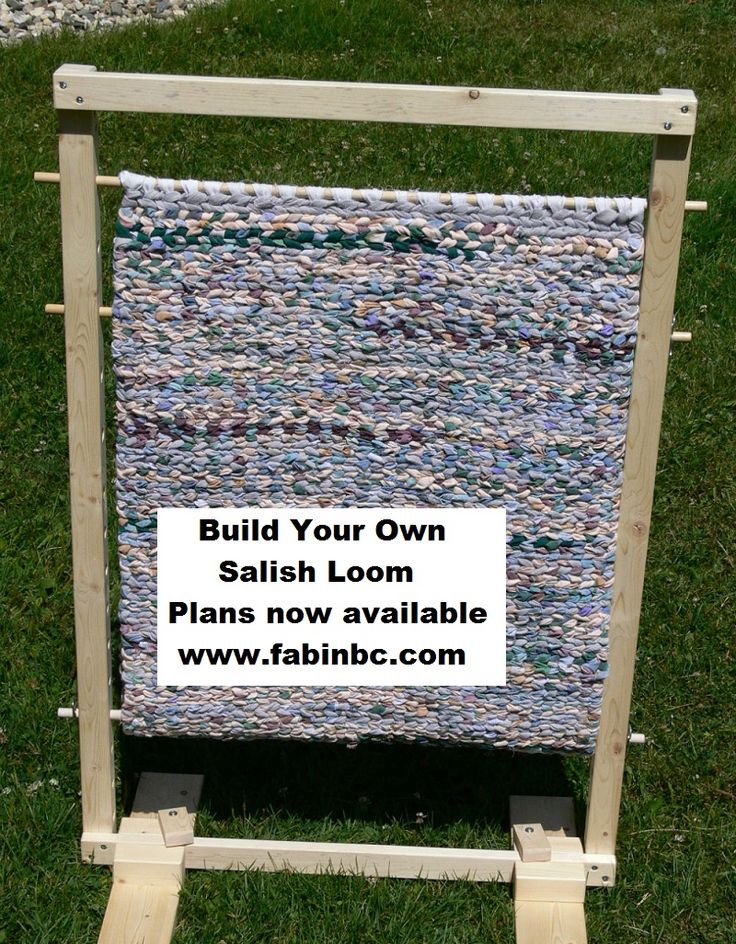Build Your Own Salish Loom For Rug Making Detailed Plans