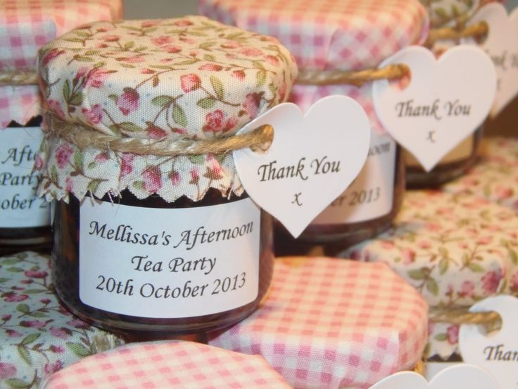Personalised Jam Favours Honey Marmalade Or Chutney Suitable For Weddings