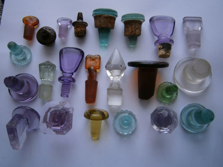 Old bottle stoppers