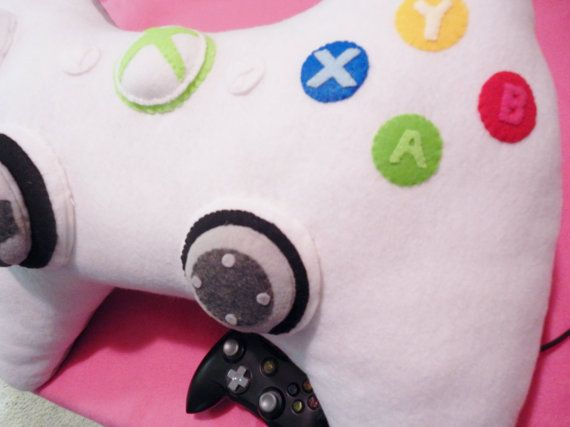 Have sweet gaming dreams with this Xbox 360 controller pillow.