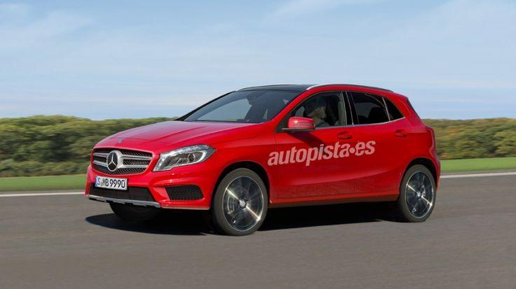 Mercedes GLA, el tercer miembro del 'equipo A'. http://www.autopista.es/novedades-coches/articulo/mercedes-gla-suv-compacto-premium-95500