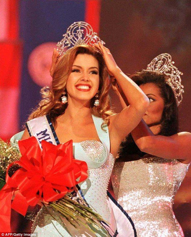 Alicia Machado (pictured), the 1996 Miss Universe representing Venezuela, is becoming a U....