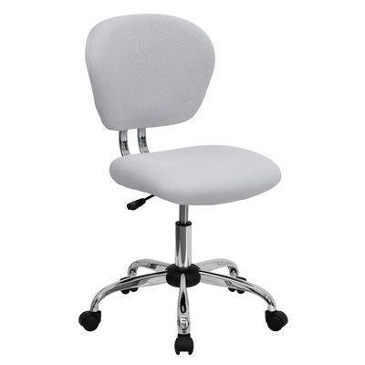 Zipcode Design Baxley Mesh Desk Chair Color: White Mesh